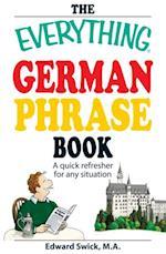 Everything German Phrase Book (Everything)
