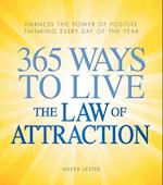 365 Ways to Live the Law of Attraction af Meera Lester