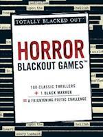 Horror Blackout Games af Adams Media