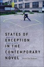 States of Exception in the Contemporary Novel af Arne De Boever