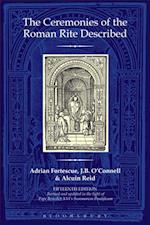 Ceremonies of the Roman Rite Described af Adrian Fortescue