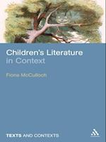 Children's Literature in Context (TEXTS AND CONTEXTS)