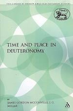 Time and Place in Deuteronomy af James Gordon Mcconville