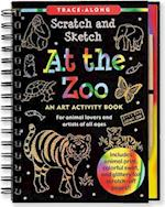 At the Zoo Scratch and Sketch Trace-Along