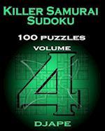 Killer Samurai Sudoku 100 Puzzles af Djape