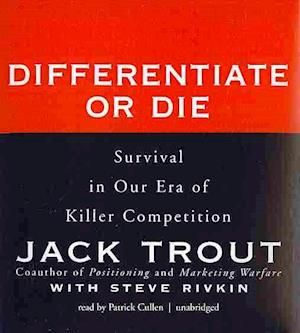 Lydbog, CD Differentiate or Die af Jack Trout