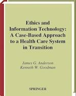 Ethics and Information Technology (HEALTH INFORMATICS)