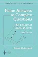 Plane Answers to Complex Questions af Ronald Christensen