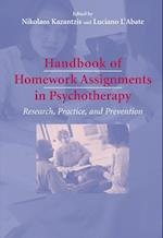 Handbook of Homework Assignments in Psychotherapy af Luciano L Abate, Francoise Gerard, Nikolaos Kazantzis