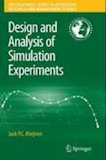 Design and Analysis of Simulation Experiments af Jack P. C. Kleijnen