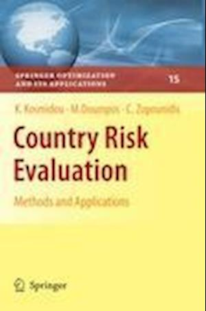 Country Risk Evaluation : Methods and Applications