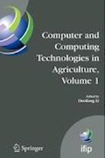 Computer and Computing Technologies in Agriculture, Volume I (Ifip Advances in Information and Communication Technology, nr. 258)