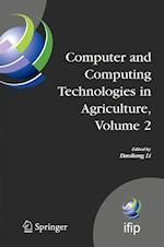 Computer and Computing Technologies in Agriculture, Volume II (Ifip Advances in Information and Communication Technology, nr. 259)