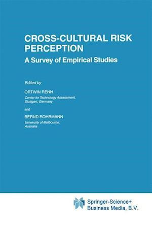 Cross-Cultural Risk Perception : A Survey of Empirical Studies