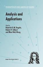 Analysis and Applications - ISAAC af Heinrich G W Begehr, Robert P Gilbert, Man Wah Wong