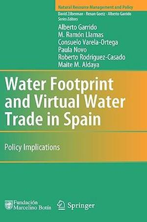 Water Footprint and Virtual Water Trade in Spain : Policy Implications