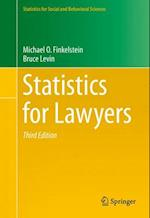 Statistics for Lawyers (Statistics for Social and Behavioral Sciences)