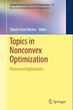 Topics in Nonconvex Optimization