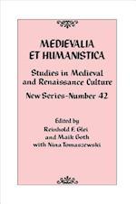 Medievalia Et Humanistica (Medievalia Et Humanistica Series)
