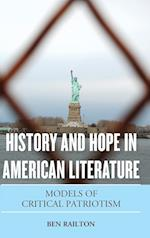 History and Hope in American Literature af Ben Railton