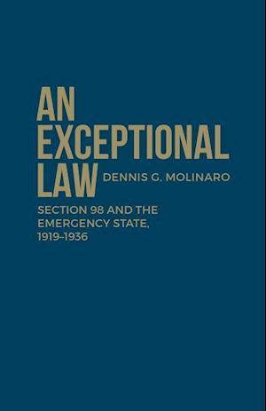 Bog, hardback An Exceptional Law af Dennis G. Molinaro