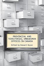 Provincial & Territorial Ombudsman Offices in Canada (Ipac Series in Public Management and Governance)