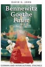 Bennewitz, Goethe, 'Faust' (German And European Studies)