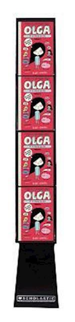 Olga Et Le Machin Qui Pue Presentoir de Plancher 20 Exemplaires
