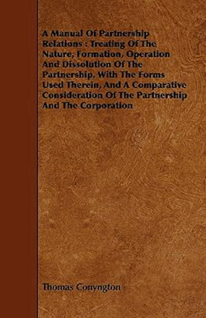 A Manual Of Partnership Relations