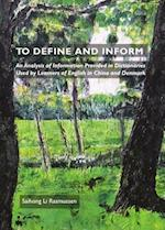 To Define and Inform