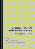 Empirical Approaches to Cognitive Linguistics