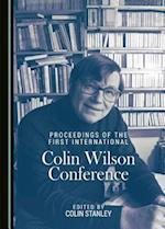 Proceedings of the First International Colin Wilson Conference
