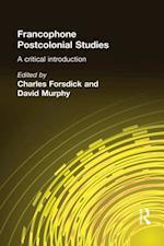 Francophone Postcolonial Studies
