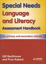 Special Needs Language and Literacy Assessment Handbook