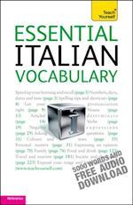 Essential Italian Vocabulary: Teach Yourself (Teach Yourself)