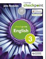 Cambridge Checkpoint English Student's Book 3 af John Reynolds