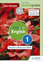Cambridge Checkpoint English Teacher's Resource Book 1 af John Reynolds