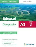 Edexcel A2 Geography Student Unit Guide New Edition: Unit 3 Contested Planet af Cameron Dunn, Sue Warn