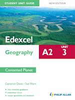 Edexcel A2 Geography Student Unit Guide New Edition: Unit 3 Contested Planet af Sue Warn