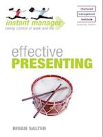 Effective Presenting (Instant Manager)