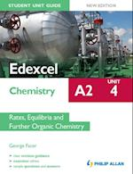Edexcel A2 Chemistry Student Unit Guide New Edition: Unit 4 Rates, Equilibria and Further Organic Chemistry af George Facer