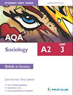 AQA A2 Sociology Student Unit Guide New Edition: Unit 3 Beliefs in Society af Tony Lawson