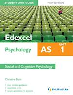 Edexcel AS Psychology Student Unit Guide New Edition af Christine Brain