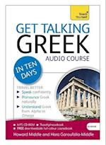 Get Talking Greek in Ten Days Beginner Audio Course