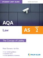 AQA AS Law Student Unit Guide New Edition