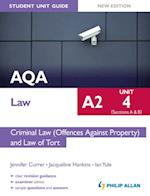 Aqa A2 Law (Student Unit Guide)
