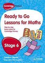 Cambridge Primary Ready to Go Lessons for Mathematics Stage 6