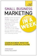 Small Business Marketing In A Week af John Sealey