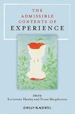 The Admissible Contents of Experience (Philosophical Quarterly Special Issues)