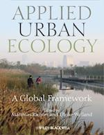 Applied Urban Ecology af Ulrike Weiland, Matthias Richter
